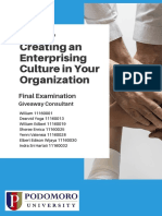 Creating an Enterprising Culture in Your Organization