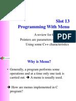 Slot13-Programming With Menu.pptx