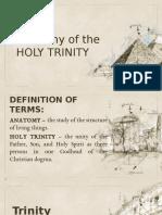The anatomy of the Holy Trinity