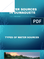 Water Sources in Dumaguete