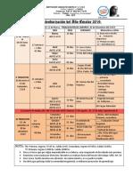 Calendarización Año Escolar 2019