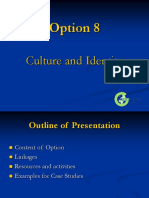 8 Culture and Identity Option 2005