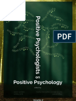 Positive Psychologists on Positive Psychology Vol 2 2013
