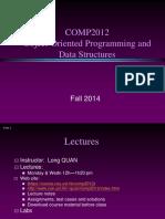 COMP 2012 Introduction