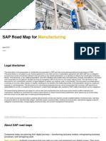sap roadmap for manufacturing