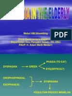Dysphagia in Eldery