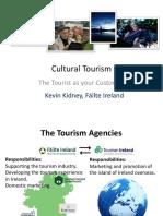 Cultural Tourism - Kevin Kidney Failte Irelnad
