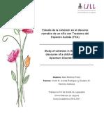 Estudio de la cohesion en el discurso narrativo de un nino con Trastorno del Espectro Autista (TEA)..pdf