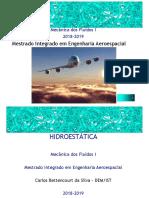 Aula 2-Hidroestatica Cbs 2018