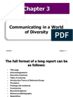 Communicating in a World of Diversity