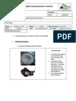 Informe de Reparacion de Motor ISM Cummins