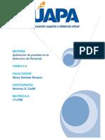 Aplicación de pruebas en la  Selección de Personal. tarea 4.docx