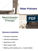 Water Pollutant Classification