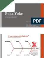 PME3463 Grupo T22AG05 - Poka Yoke - 1 2018