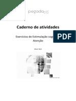 EXERCICIOS DE ESTIMULAÇÃO  COGNITIVA- ATENÇÃO.pdf