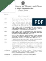 Decreto confluenze 2010