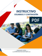 INSTRUCTIVO_USUARIO Y CONTRASEÑA 2018-1-ener04-17