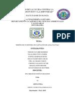 Informe Agua Pluvial