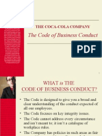 Code of Business Conduct - Coke