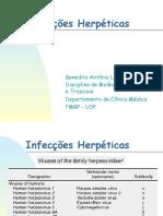 Infecções herpéticas