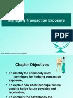 A550092402 23584 16 2019 Managing Transaction Exposure
