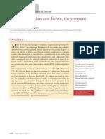 Caso Clínico Fiebre Tos y Esputo Hemoptoico 2013