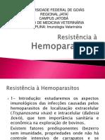 Resistência à hemoparasitos