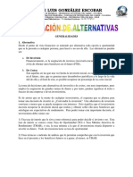 Evaluación de Alternativa