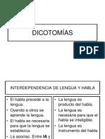 Cap 4. 3 Dicotomias