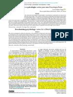 VEIGA, Lucas. 2019. Descolonizando a Psicologia - Notas Para Uma Psicologia Preta