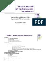 Adaptacion de Impedancias Lineas de Transmision