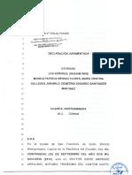 2017-02-06 MODELO Declaración Juramentada Sobre Patrimonio Para Registro Organización Social
