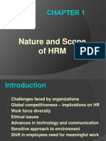 Nature and scope of HRM-Module 1.ppt