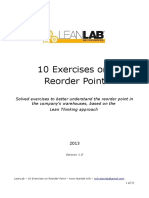 10 Exercises on Reorder Point1