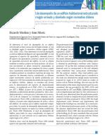 Determinación del nivel de desempeño de un edificio habitacional estructurado en base a muros de hormigón armado y diseñado según normativa chilena.pdf