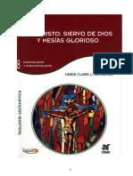 Libro = JESUCRISTO SIERVO DE DIOS Y MESÍAS GLORIOSO