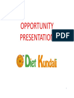 Opportunity Presentation DK October