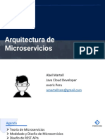 Sesion01 Arquitectura de Microservicios