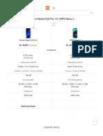 Compare Xiaomi Redmi K20 Pro and OPPO Reno 2 _ 91mobiles.com