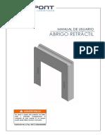 Manual - Abrigo Retractil - 2017