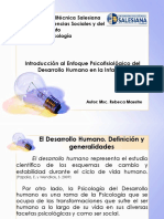 Nociones de Psicología Del Desarrollo Humano (1)