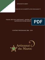 Contrat Programme National Vision 2015