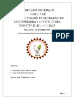 SISTEMA DE GESTION DE SEGURIDAD Y SALUD EN EL TRABAJO-BIMASTER.doc