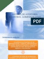 SISTEMA DE AUDITORIA Y CONTROL ADMINISTRATIVO