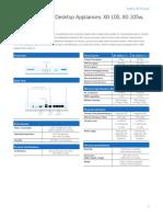 Sophos XG 105115 Datasheet