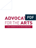 Advocate for the Arts (Singapore Legal Guide for Freelancers)