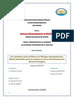 Les relations entre le Maroc et l'Afrique subsaharienne
