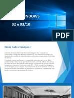 Windows - Apresentação 01