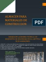 Almacen Para Materiales de Construccion