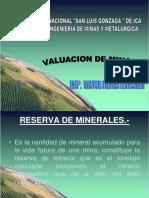 valuacion de minas